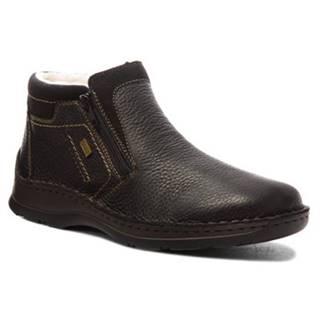 Členkové topánky  05388-00 koža(useň) zamšová,koža(useň) lícová