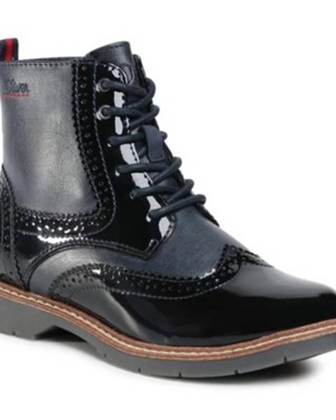 Tmavomodré topánky s.Oliver RED LABEL