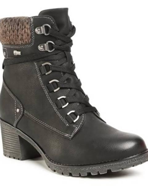 Čierne topánky GO SOFT BY RELIFE