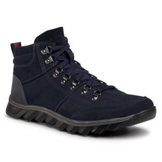 Šnurovacia obuv Lanetti MBS-RJUKA-02 Ekologická koža/-Ekologická koža