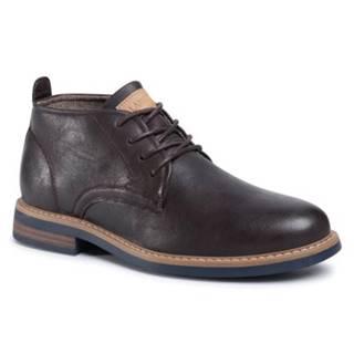 Šnurovacia obuv  MYL8248-3 koža ekologická