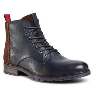 Šnurovacia obuv Lasocki for men MB-SEALORD-01 Prírodná koža(useň) - Lícova
