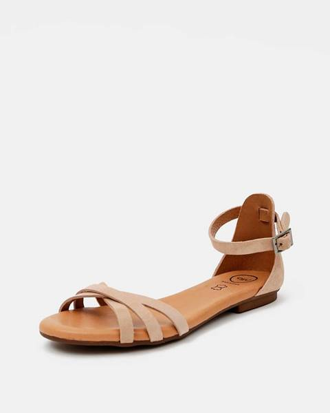 Béžové sandále OJJU
