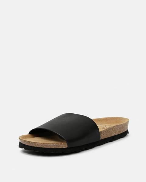 Čierne papuče OJJU