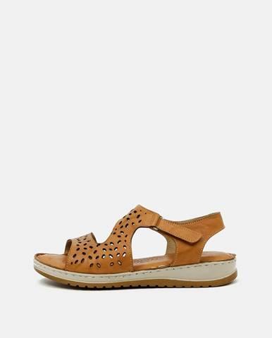 Hnedé sandále wild