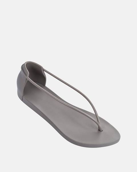 Sivé sandále Ipanema