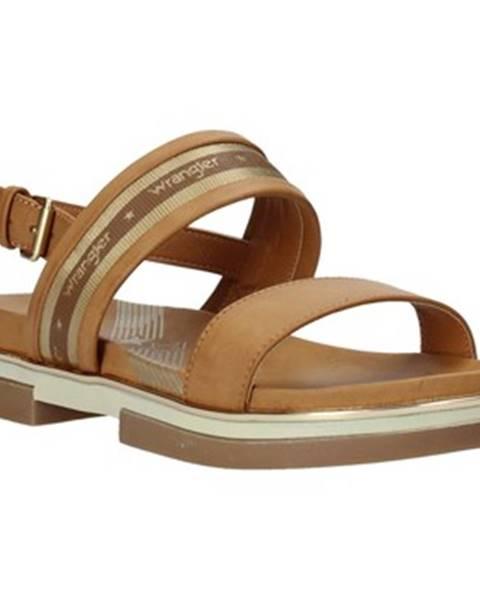 Béžové sandále Wrangler