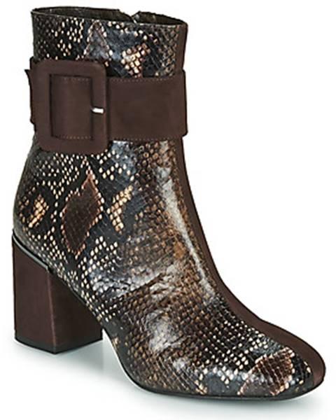 Hnedé topánky Perlato