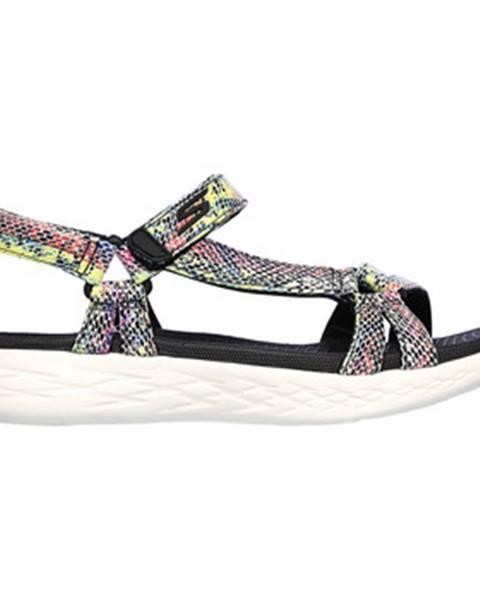 Viacfarebné sandále Skechers