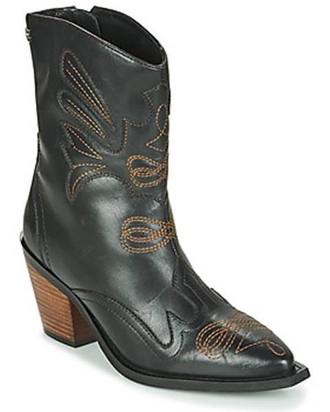 Čierne topánky Gioseppo