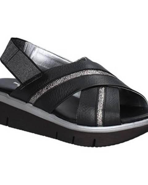 Čierne sandále The Flexx