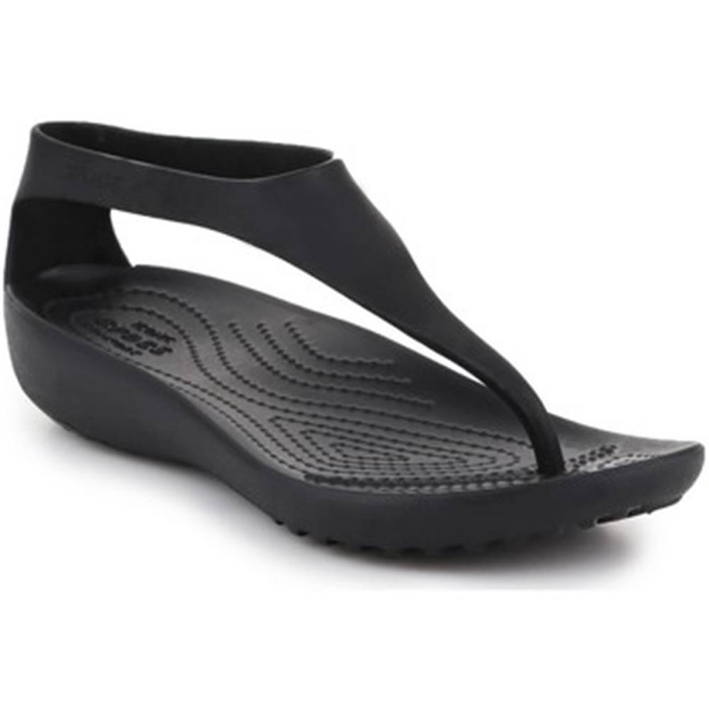 Crocs Sandále Crocs  Serena Flip W 205468-060