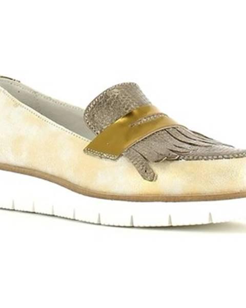Zlaté mokasíny Grace Shoes