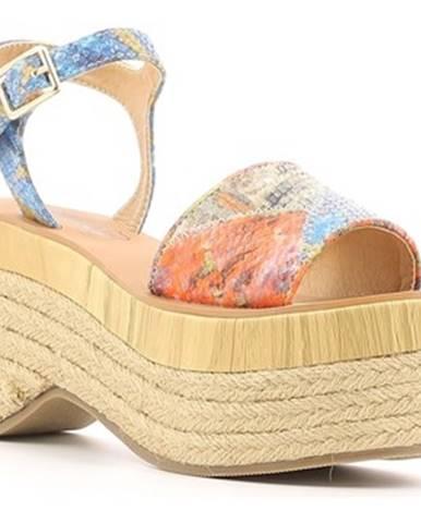 Modré sandále Police 883