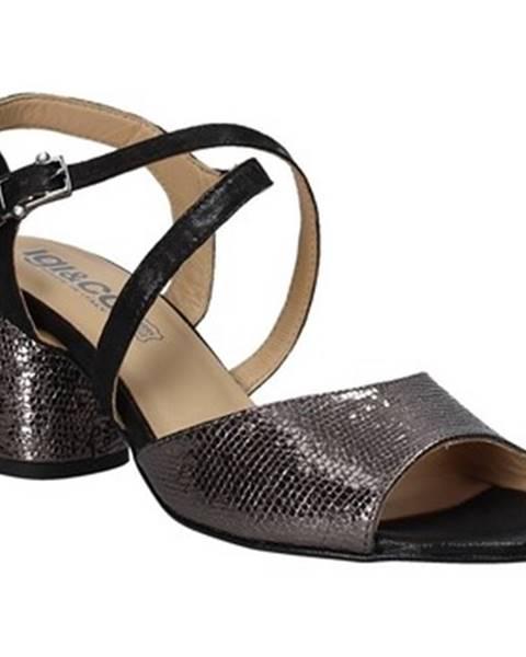 Čierne sandále IGI CO