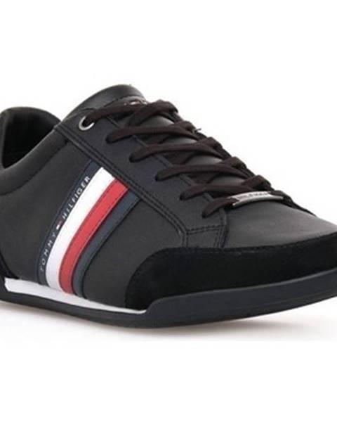 Čierne tenisky Tommy Hilfiger