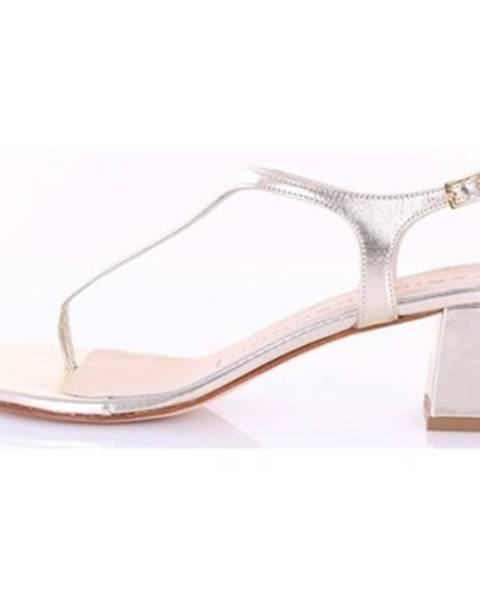 Zlaté sandále Fabio Rusconi