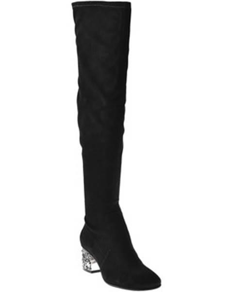 Čierne čižmy Elvio Zanon