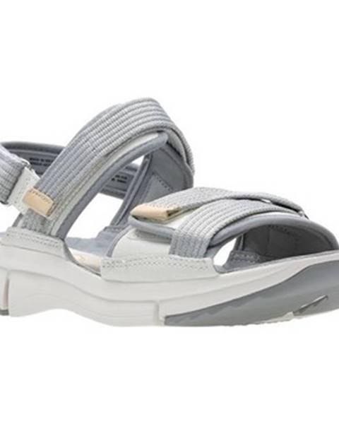 Viacfarebné športové sandále Clarks