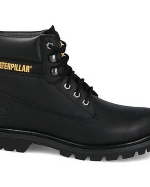 Čierne topánky Caterpillar