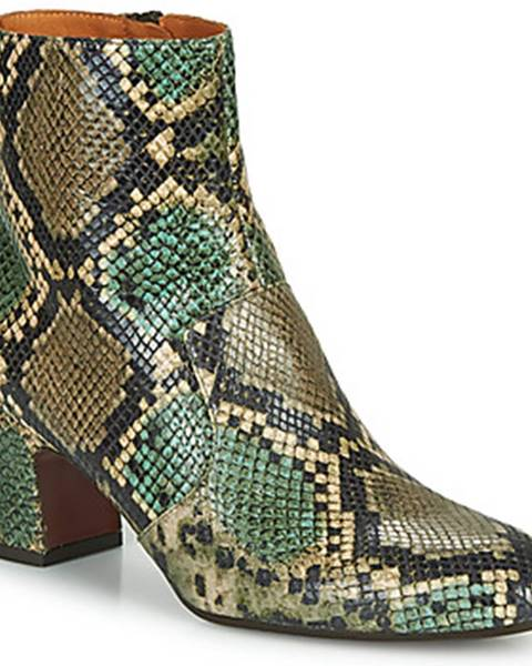 Viacfarebné topánky Chie Mihara