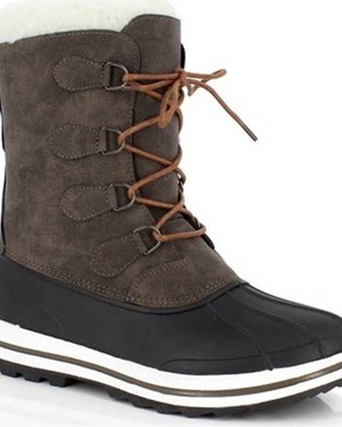 Hnedé topánky Kimberfeel