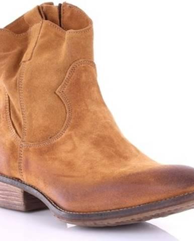 Hnedé topánky Le Pure