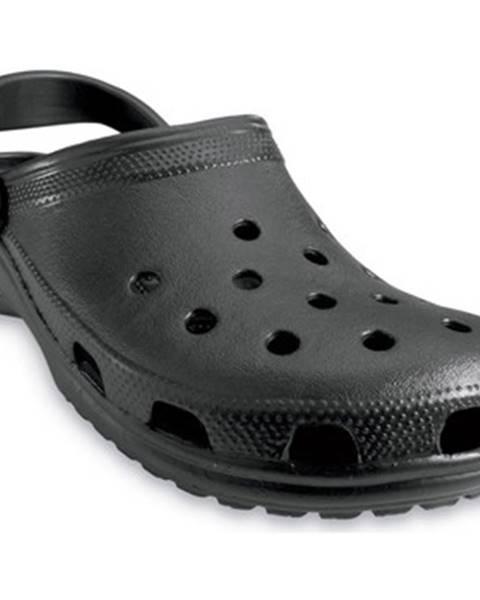 Čierne topánky Crocs