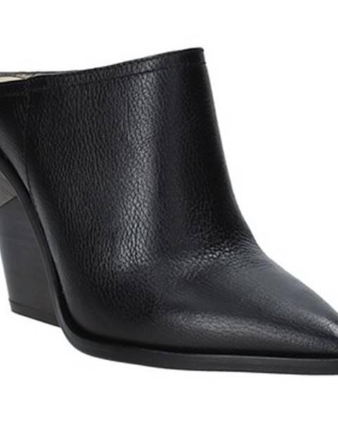 Čierne topánky Studio Italia