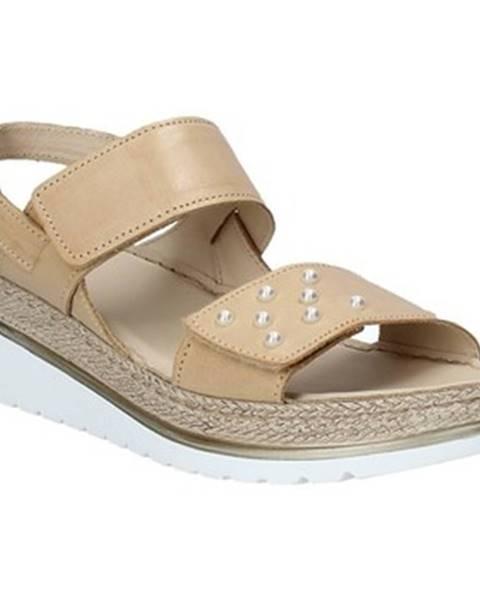Hnedé sandále Melluso