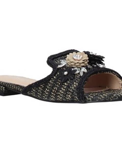 Čierne topánky Gold gold