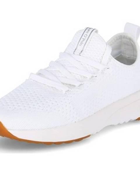 Biele topánky Marc O'Polo