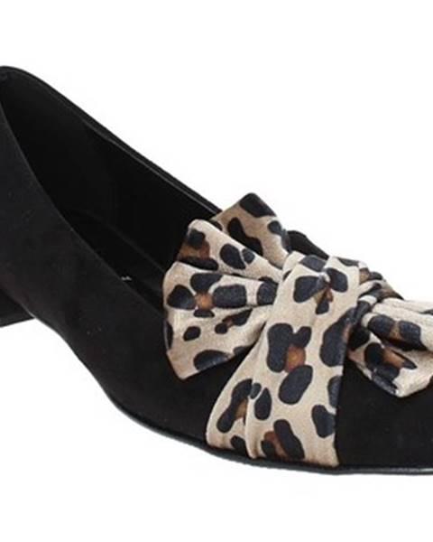 Čierne balerínky Grace Shoes
