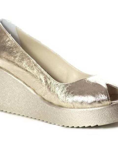 Zlaté sandále Venezia