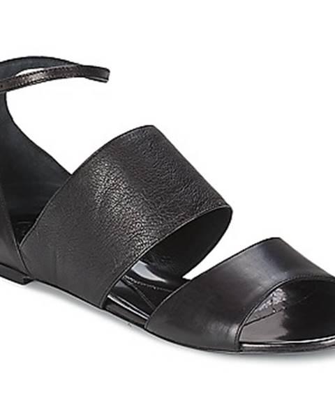 Čierne sandále McQ Alexander McQueen