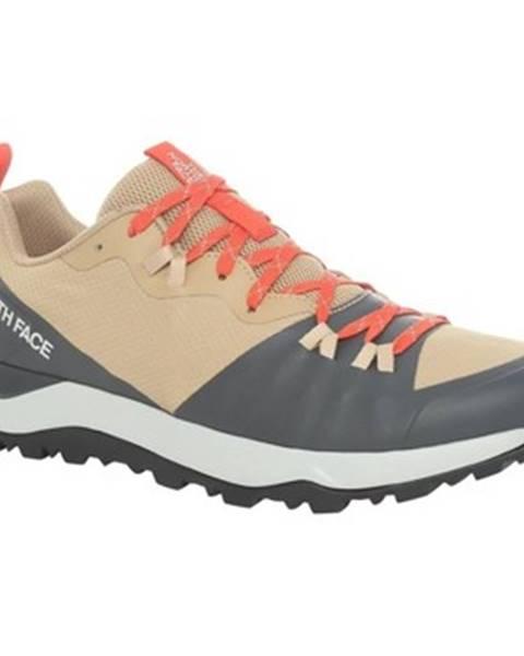 Béžové topánky The North Face