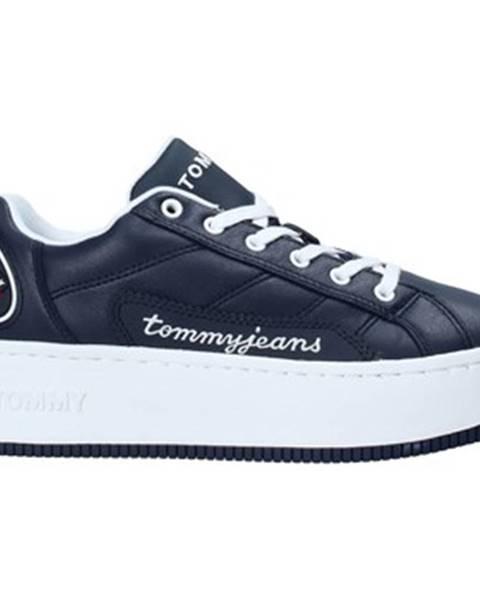 Modré tenisky Tommy Jeans