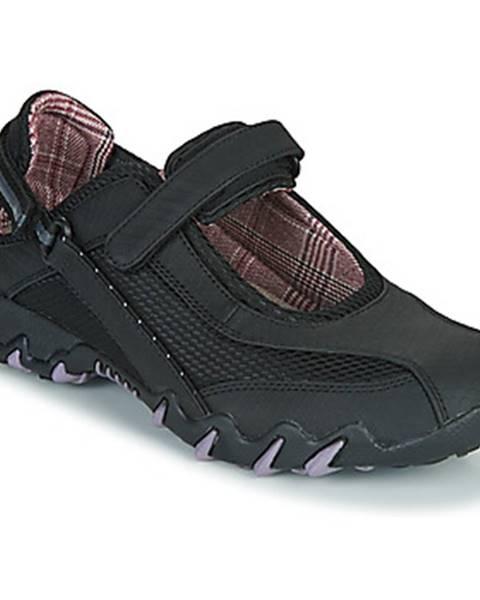 Čierne športové sandále Allrounder by Mephisto