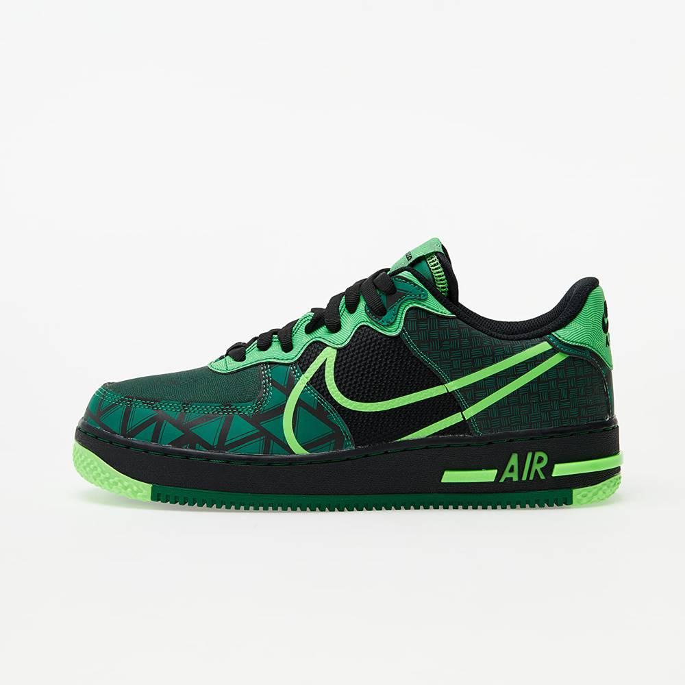 Nike Nike Air Force 1 React QS Black/ Green Strike