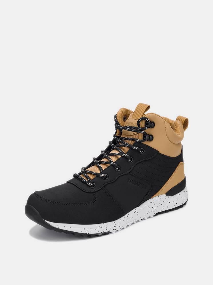 SAM 73 Čierne pánske členkové topánky SAM 73