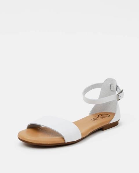 Biele sandále OJJU