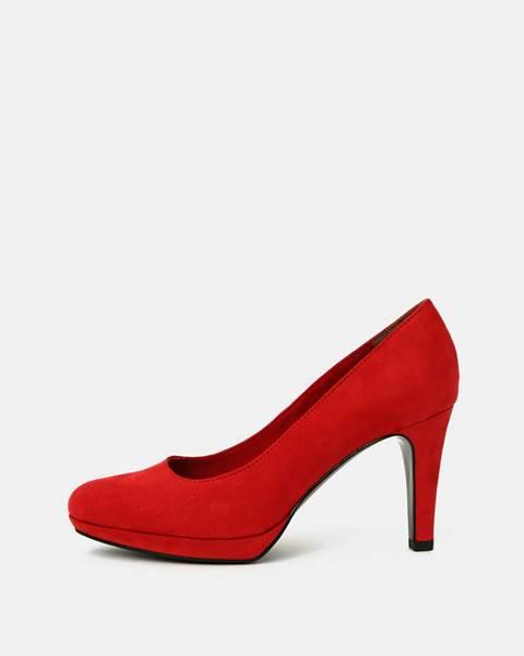 Červené lodičky S.Oliver