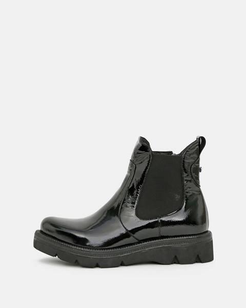 Čierne topánky wild