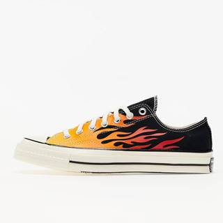 Converse Chuck 70 OX Black/ Enamel Red