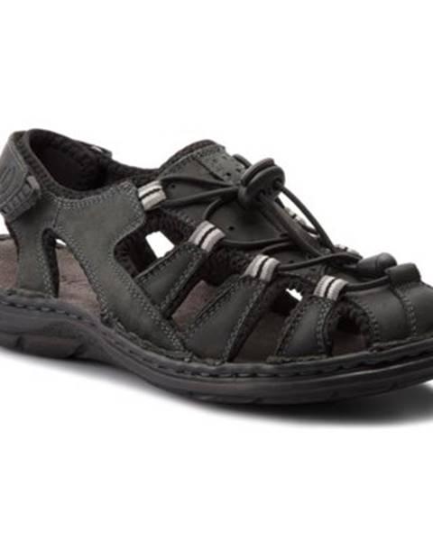 Čierne sandále Lasocki for men