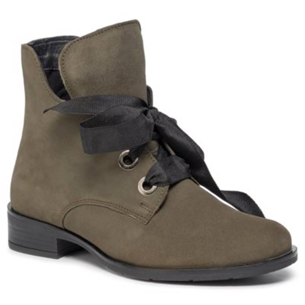 Lasocki Šnurovacia obuv Lasocki WI23-CIDA-01 Prírodná koža(useň) - Nubuk