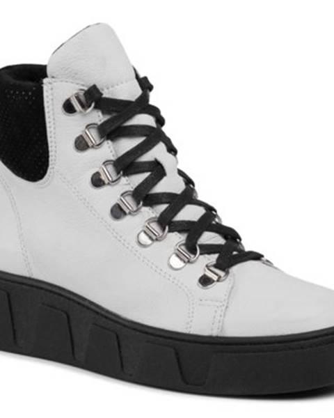 Biele topánky Lasocki