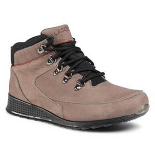 Šnurovacia obuv Lasocki for men MB-EAGER-01 Prírodná koža(useň) - Lícova