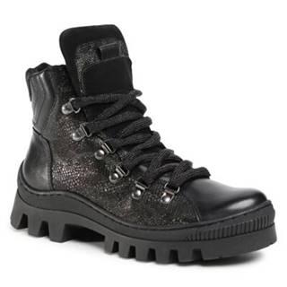 Šnurovacia obuv Lasocki EST-ZENA-02 Prírodná koža(useň) - Zamš