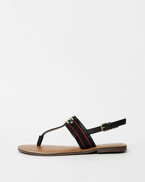 Tmavomodré sandále Tom Tailor